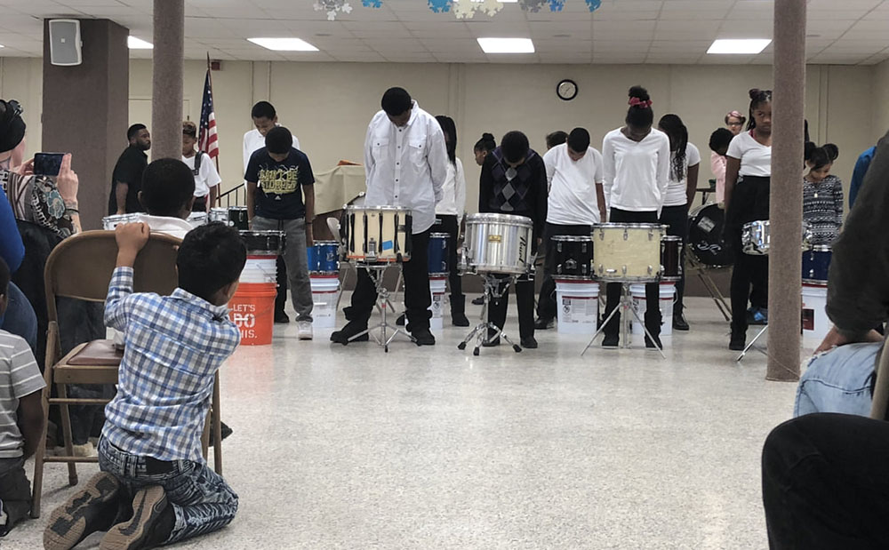 drumline at a Preschool & Daycare Serving Toledo, OH